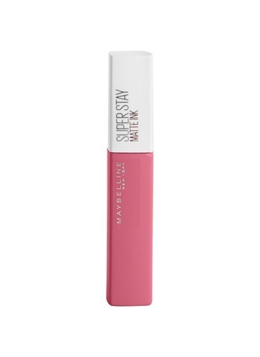 Maybelline Maybelline New York Super Stay Matte Ink City Edition Likit Mat Ruj - 125 Inspirer Pembe